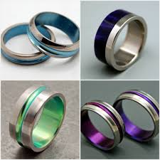 geeky wedding rings earth friendly finds for chic weddings the brass