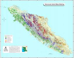 Map Of British Columbia Canada by Coast Water Stewardship Information Sources