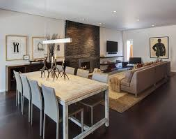 amenagement cuisine salon salle a manger aménagement salon salle à manger réussir la séparation des deux zones