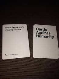 cards against humanity near me lance armstrong on just another of cards