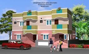 svasthik independent duplex house 3bhk villas for sale in mangadu