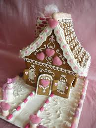 pretty in pink would be a great name for this lovely gingerbread