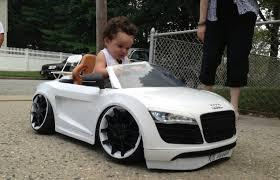 audi custom cars kidstance builds customized luxury power wheels cars for