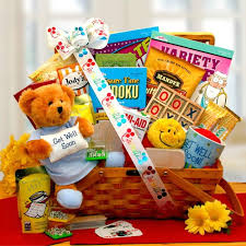 care package for a sick friend get well gift baskets get well gift ideas