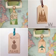 travel tags images Pimp your suitcase with leather luggage tags one old gypsy png