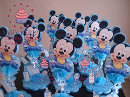 Mickey Mouse Center Pieces Veryberry Cupcakes Baby Mickey Center Pieces