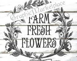 farm fresh flowers fresh flower wreath etsy studio