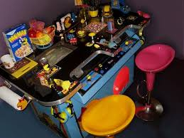 hand made ms pacman custom tabletop top arcade by eyesoulation