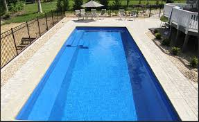 Backyard Pool Sizes by What Are The Biggest And Smallest Sizes For Fiberglass Pools