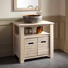 teak vessel sink vanity whitewash bathroom vanities bathroom