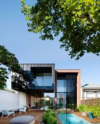 the ultra modern addition at the rear of the house belies its 19th