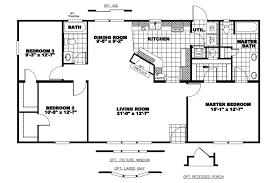 100 single wide manufactured homes floor plans floorplans