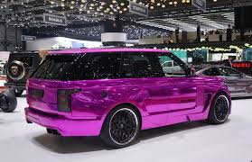 black chrome range rover pink and black sports cars 27 widescreen wallpaper