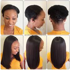 yep i slayed that short hair no problem flawless sew in hair