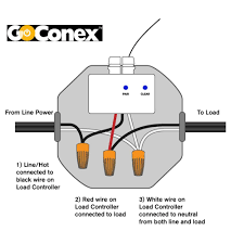 wireless switch and receiver kit in white by goconex sc 2way