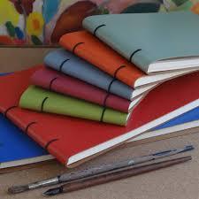 leather bound artist u0027s sketch books by artbox notonthehighstreet com