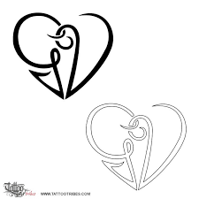 letter g and heart tattoo pictures to pin on pinterest tattooskid