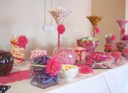 Pink Wedding Candy Buffet by Fuchsia Pink Candy Bar At The Millennium Stadium Pink Candy Bar