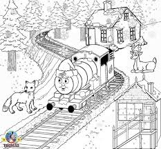train hat coloring page percy the train in a santa hat coloring pages and or embroidery