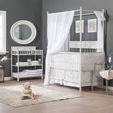 bratt decor wrought iron indigo 2 in 1 convertible crib collection