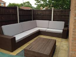 Pallet Patio Ideas Enchanting L Shaped Outdoor Sectional Pallet Patio Sectional Sofa