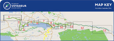 Maps Route by Voyageur Cycling Route Maps Discoveryroutes Ca U2013 Discovery