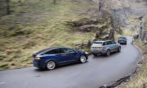 land wind vs land rover tesla model x vs audi q7 vs range rover sport triple test review