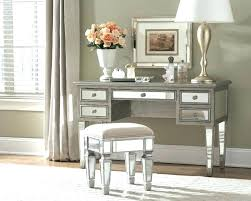mirrored makeup vanity table mirrored vanity desk mirror from contemporary with 10 prepare