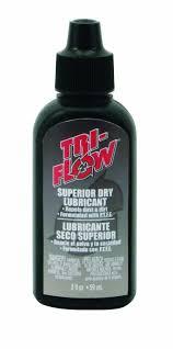 amazon com tri flow dry lube 2 oz drip bottle bike oils