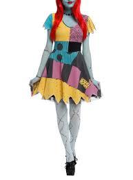 the nightmare before christmas sally costume dress hot topic