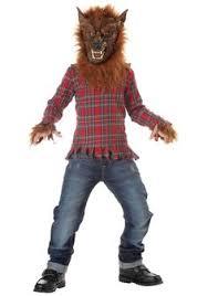 Scary Kids Halloween Costumes Homemade Werewolf Halloween Costume Boys Werewolf Costume