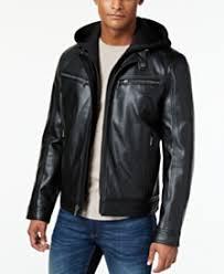 leather jacket black friday sale mens jackets u0026 coats mens outerwear macy u0027s