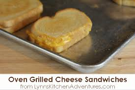 Buttered Bread In Toaster Oven Grilled Cheese Sandwiches
