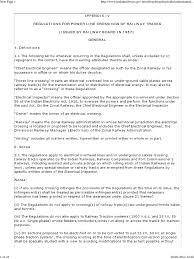 regulations for power line crossings of railway tracks insulator