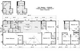 Modular Homes Open Floor Plans by 6 Bedroom 3 Bath Mobile Home Triple Wide Homes Modular Log Cabins