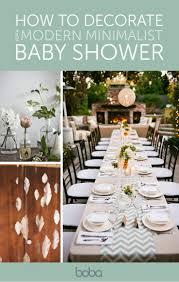 how to throw a modern minimalist baby shower minimalist baby