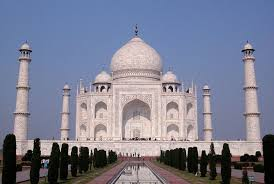 garden and pavilions of the taj mahal found to align with rays of
