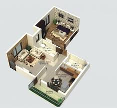 500 Sqft by I House By Pathway Developers Pvt Ltd 1 2 3 Bhk Flats At