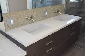 Bathroom Sink Tops Enchanting Double Vanity Tops With Sink And Fresca Oxford 48