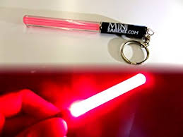 mini light saber keyring wars clubs light sticks