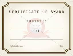 award certificate templates madinbelgrade