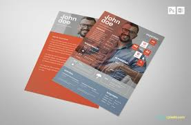 free creative psd resume template premium ms word resume u0026 cover