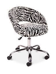 zebra print desk chair uk
