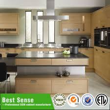 china particleboard carcass with melamine finish kitchen cabinet