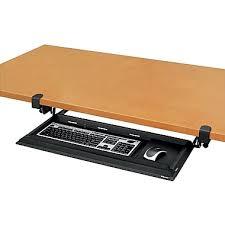 Computer Desk Without Keyboard Tray Fellowes Designer Suites Deskready Height Adjustable Keyboard