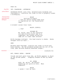 tv commercial script template writing for tv script format templates