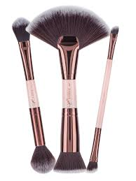 jadeywadey 180 glam vegan sculpting contour brush set