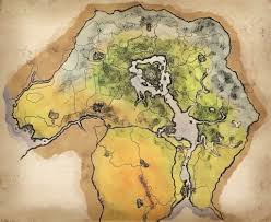 Oblivion Map Elsweyr The Deserts Of Anequina The Best Of Desert 2017