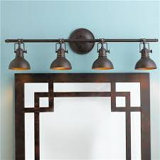 industrial bathroom light fixtures pullman bath light 4 light bath light bath fixtures and bath