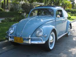 volkswagen bug blue thesamba com beetle oval window 1953 57 view topic